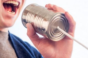 Online-Marketing, Online-Kommunikation, Blechdose
