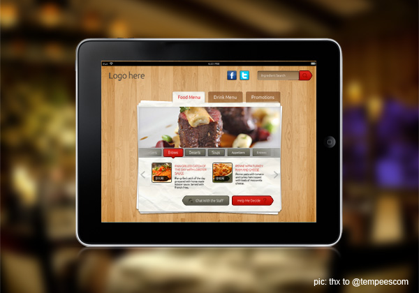 iPad Website